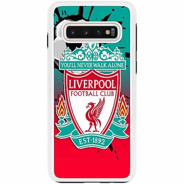 Samsung Galaxy S10 Duo Case Vit Liverpool