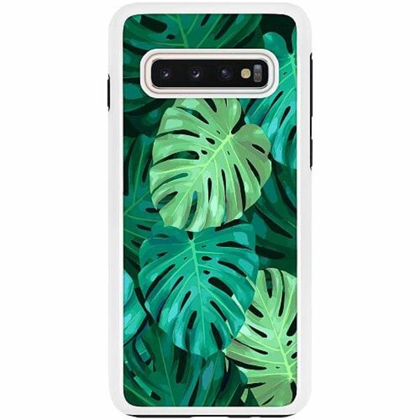 Samsung Galaxy S10 Duo Case Vit Löv
