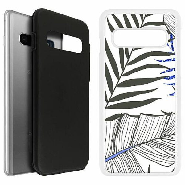 Samsung Galaxy S10 Duo Case Vit Mainly White