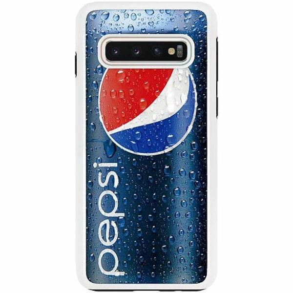 Samsung Galaxy S10 Duo Case Vit Pepsi Can
