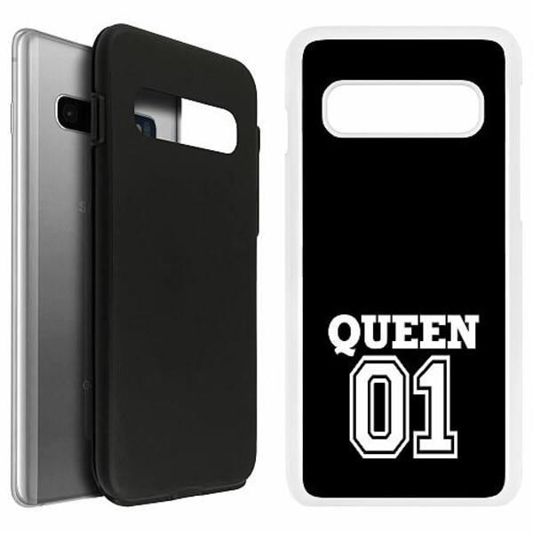 Samsung Galaxy S10 Duo Case Vit Queen 01