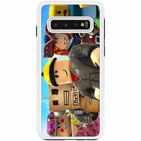 Samsung Galaxy S10 Duo Case Vit Roblox