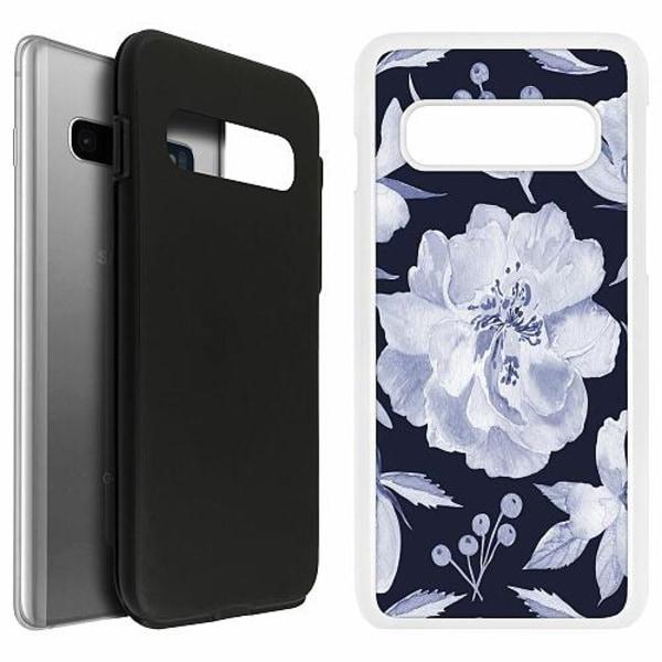 Samsung Galaxy S10 Duo Case Vit Rythm and Blue Hues