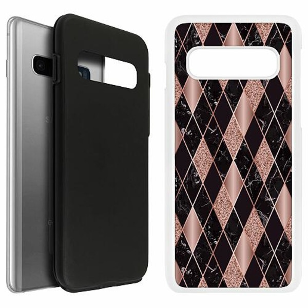 Samsung Galaxy S10 Duo Case Vit Sophisticated