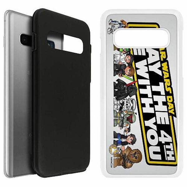 Samsung Galaxy S10 Duo Case Vit Star Wars