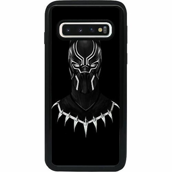 Samsung Galaxy S10 Heavy Duty 2IN1 Black Panther