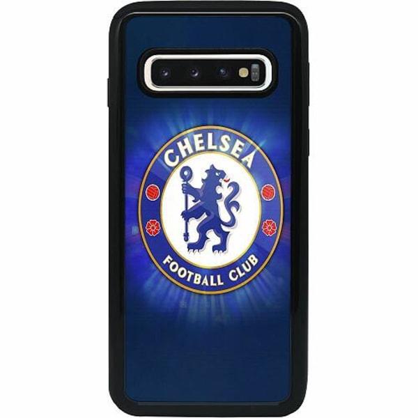 Samsung Galaxy S10 Heavy Duty 2IN1 Chelsea Football