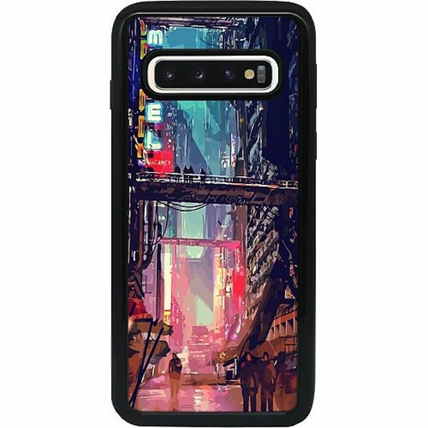Samsung Galaxy S10 Heavy Duty 2IN1 Cyberpunk 2077