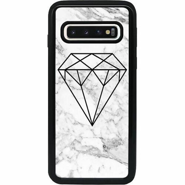 Samsung Galaxy S10 Heavy Duty 2IN1 Diamant