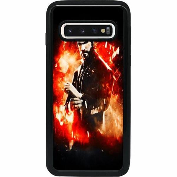 Samsung Galaxy S10 Heavy Duty 2IN1 Fortnite John Reaper