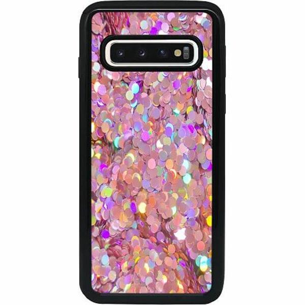 Samsung Galaxy S10 Heavy Duty 2IN1 Glitter