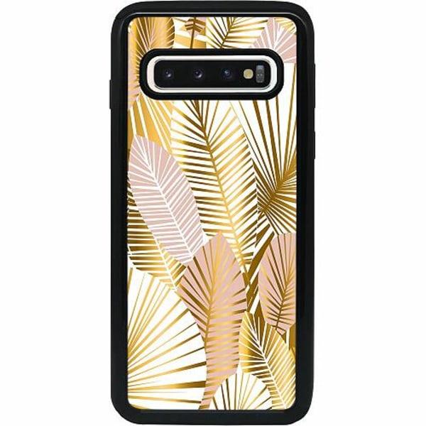 Samsung Galaxy S10 Heavy Duty 2IN1 Gold