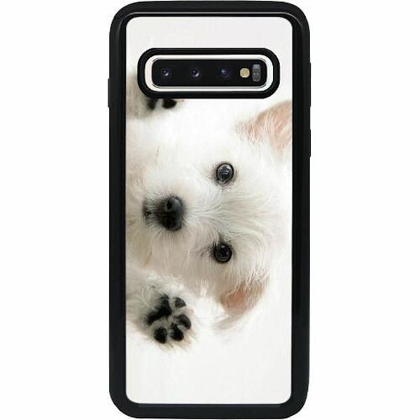 Samsung Galaxy S10 Heavy Duty 2IN1 Hund