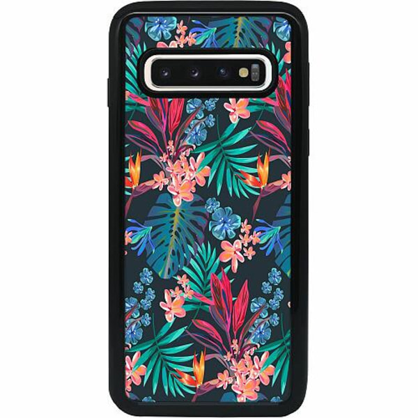 Samsung Galaxy S10 Heavy Duty 2IN1 Jungle Vibe