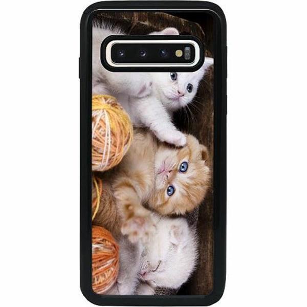 Samsung Galaxy S10 Heavy Duty 2IN1 Katter