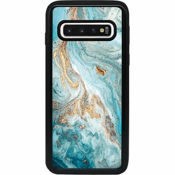 Samsung Galaxy S10 Heavy Duty 2IN1 Magic Marble
