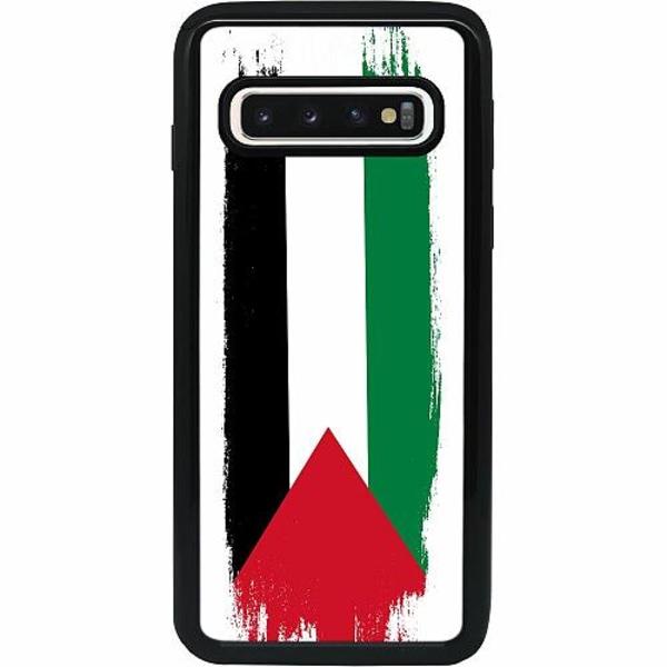 Samsung Galaxy S10 Heavy Duty 2IN1 Palestina Flagga