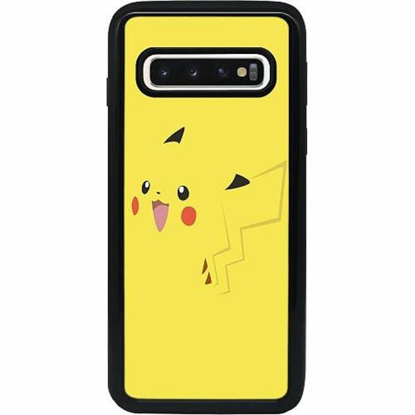 Samsung Galaxy S10 Heavy Duty 2IN1 Pokémon: Pikachu