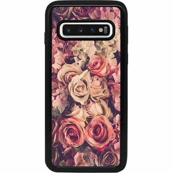 Samsung Galaxy S10 Heavy Duty 2IN1 Romantic
