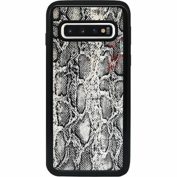 Samsung Galaxy S10 Heavy Duty 2IN1 Snake on Grey