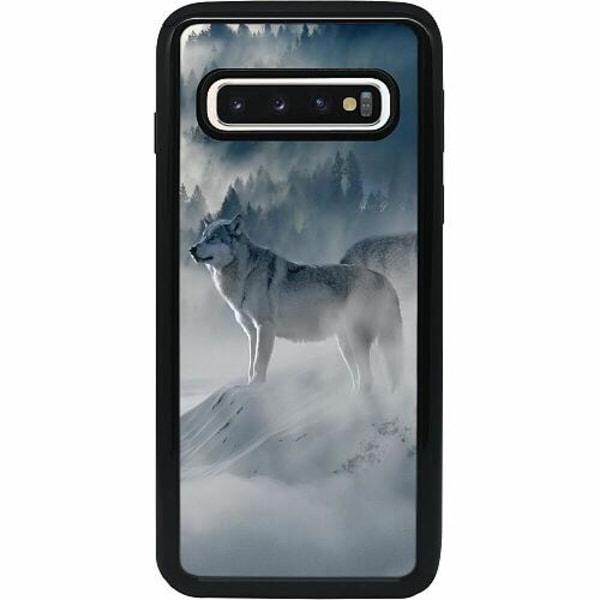 Samsung Galaxy S10 Heavy Duty 2IN1 Wolf / Varg