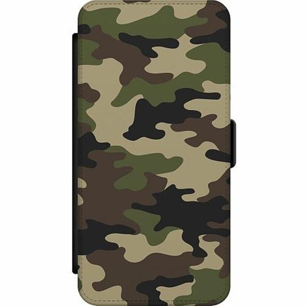 Samsung Galaxy S10 Lite (2020) Wallet Slim Case Militär