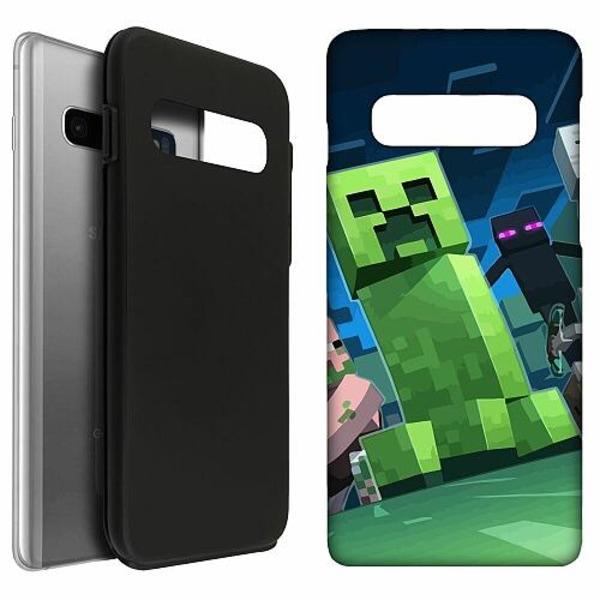 Samsung Galaxy S10 LUX Duo Case (Matt) MineCraft