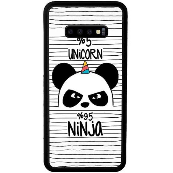 Samsung Galaxy S10 Plus Mobilskal Ninja Panda With A Twist