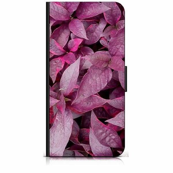 Samsung Galaxy J5 (2017) Plånboksfodral Pink Shrubs