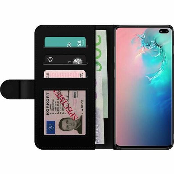 Samsung Galaxy S10 Plus Billigt Fodral Bokstäver