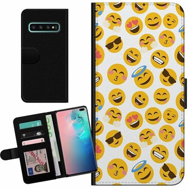 Samsung Galaxy S10 Plus Billigt Fodral Emoji Mania