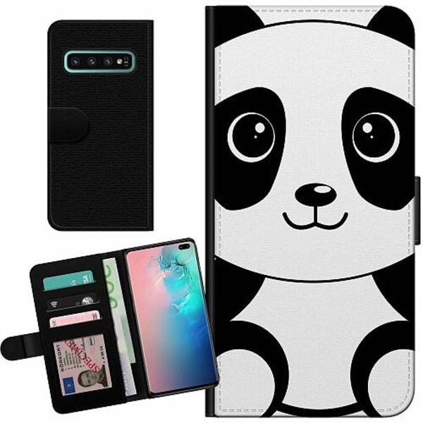 Samsung Galaxy S10 Plus Billigt Fodral Panda
