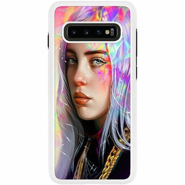 Samsung Galaxy S10 Plus Duo Case Vit Billie Eilish 2021