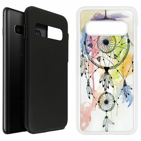 Samsung Galaxy S10 Plus Duo Case Vit Drömfångare