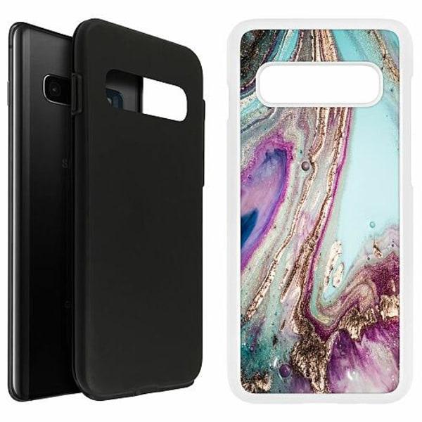 Samsung Galaxy S10 Plus Duo Case Vit Fairytale