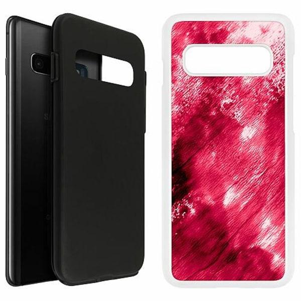 Samsung Galaxy S10 Plus Duo Case Vit Fake Blood