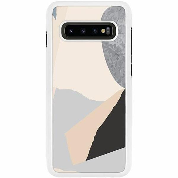 Samsung Galaxy S10 Plus Duo Case Vit Hawaii Retro