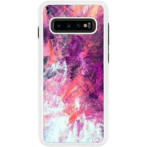 Samsung Galaxy S10 Plus Duo Case Vit Keep Painting