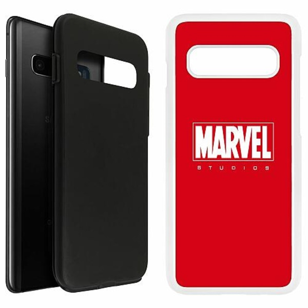 Samsung Galaxy S10 Plus Duo Case Vit Marvel Studios
