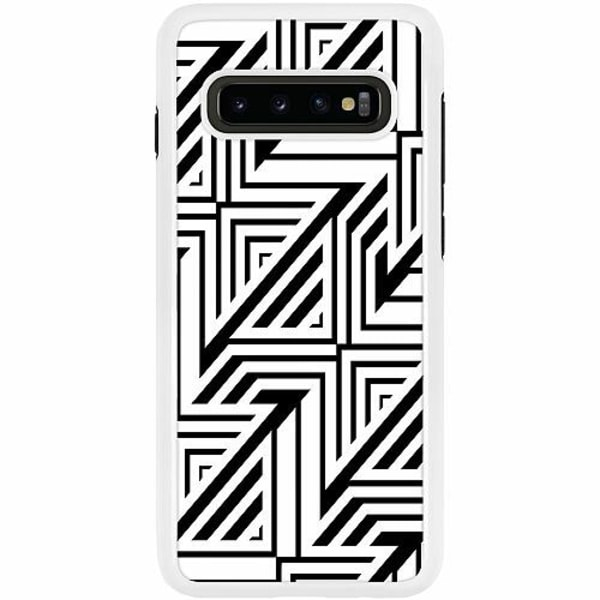 Samsung Galaxy S10 Plus Duo Case Vit Probably Yes