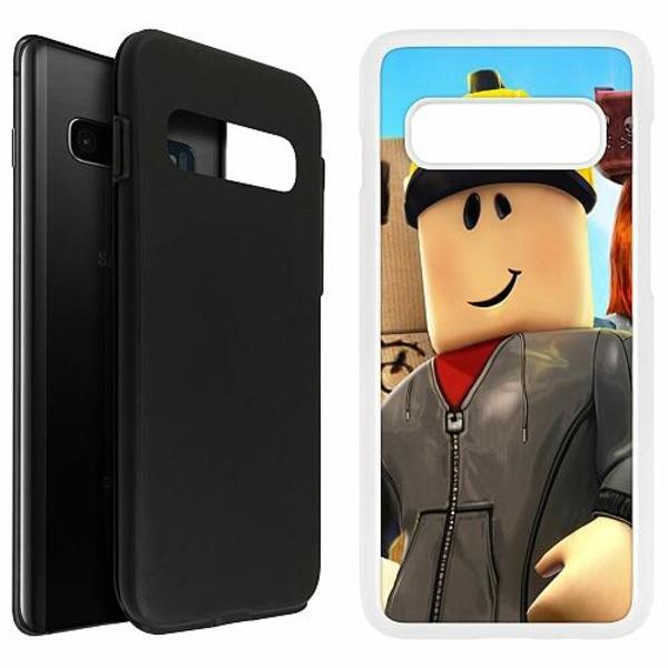 Samsung Galaxy S10 Plus Duo Case Vit Roblox