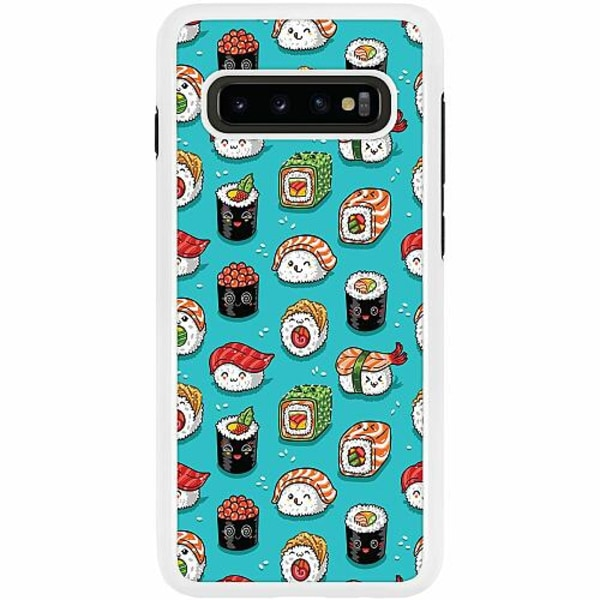 Samsung Galaxy S10 Plus Duo Case Vit Sushi
