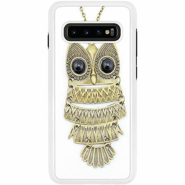 Samsung Galaxy S10 Plus Duo Case Vit Uggla