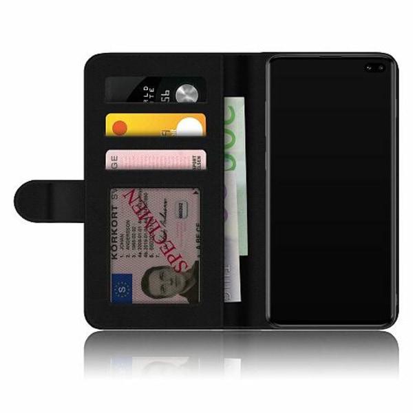 Samsung Galaxy S10 Plus Fodralskal Tiger