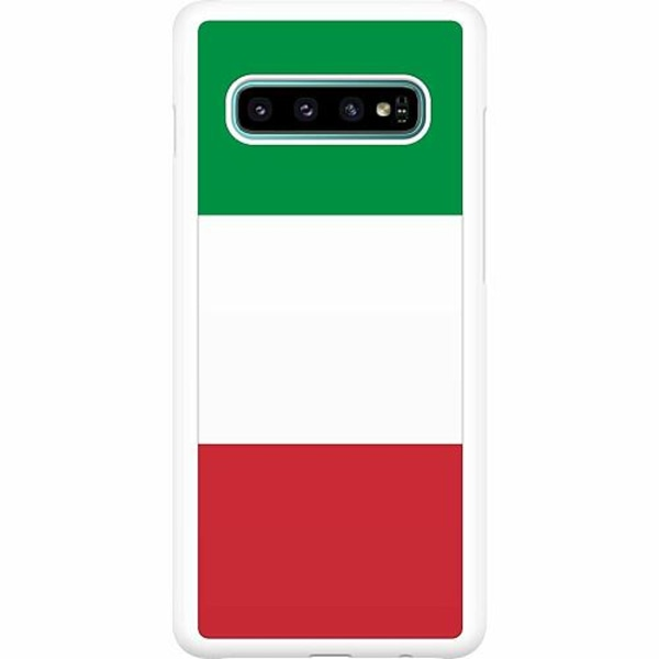 Samsung Galaxy S10 Plus Hard Case (Vit) Italien / Italy