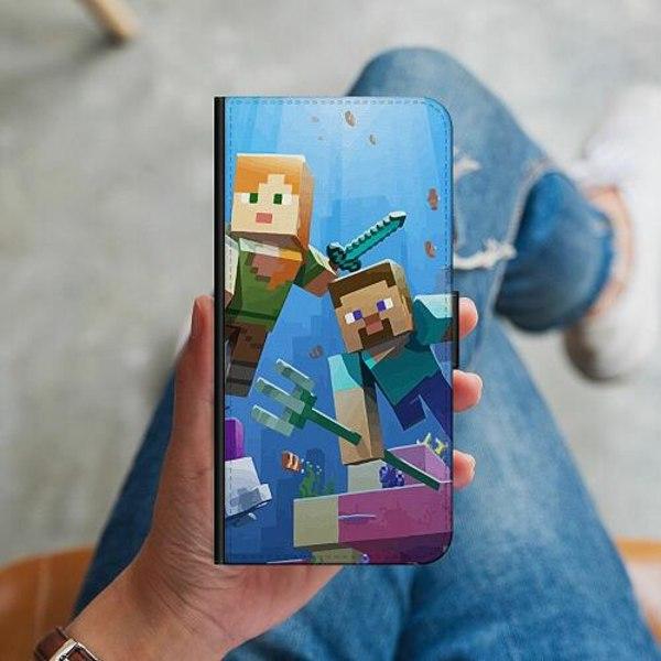 Apple iPhone 12 mini Plånboksskal MineCraft
