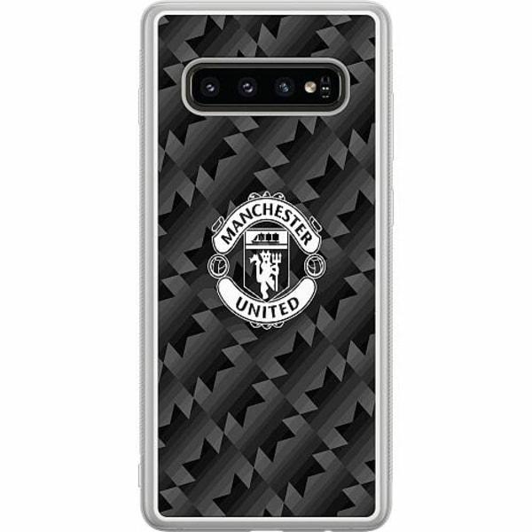 Samsung Galaxy S10 Plus Soft Case (Frostad) Manchester United FC