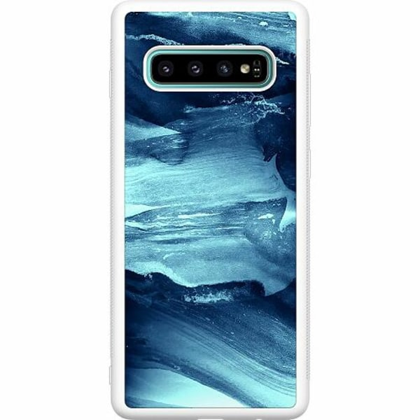 Samsung Galaxy S10 Plus Soft Case (Vit) Deep Sea