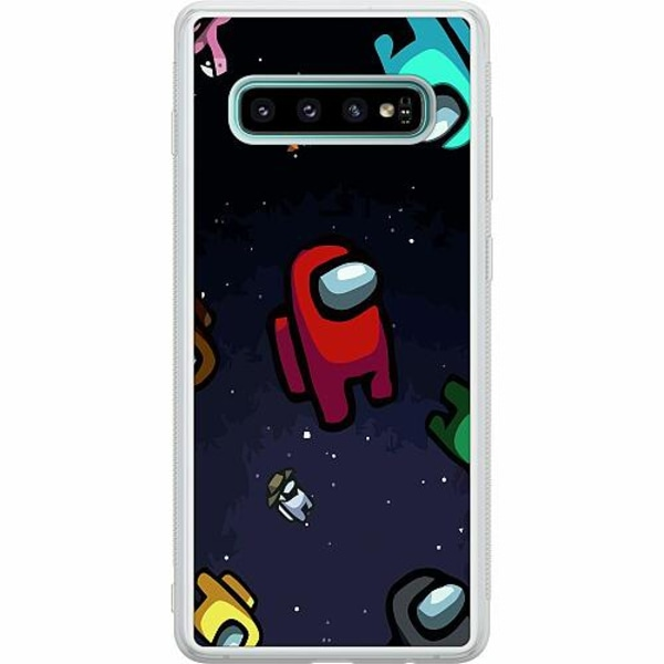 Samsung Galaxy S10 Soft Case (Frostad) Among Us