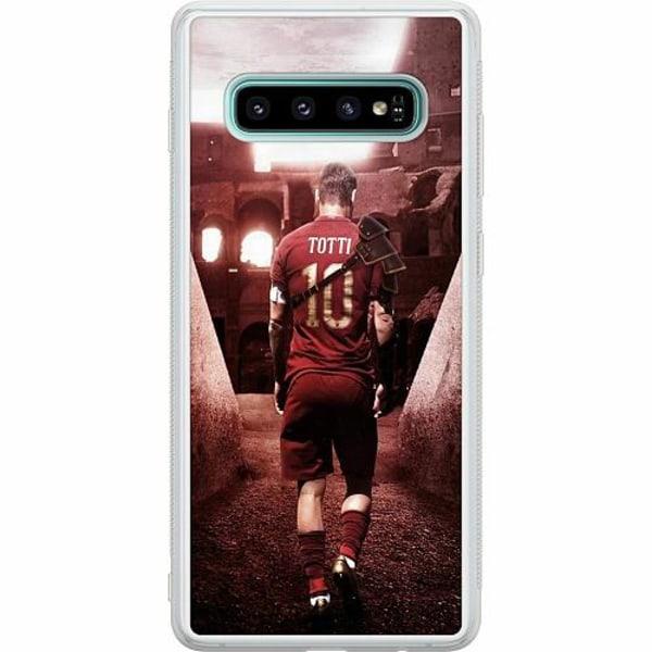 Samsung Galaxy S10 Soft Case (Frostad) Francesco Totti